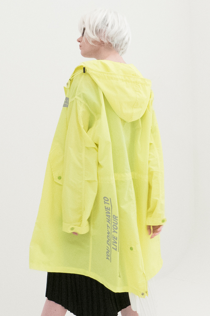 Reflection Safari Rain Coat (GREEN)